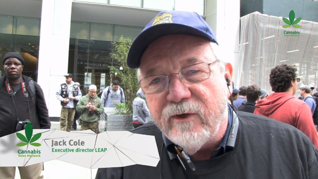 Jack Cole LEAP NYC Cannabis Parade