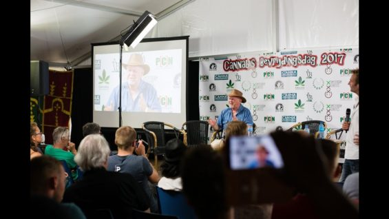 Interview Rick Simpson | Cannabis University | Cannabis Liberation Day 2017