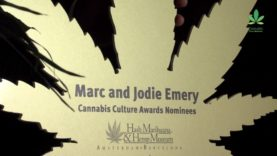 Marc Emery & Jodie Emery nominated for a Cannabis Culture Award during Cultiva 2014