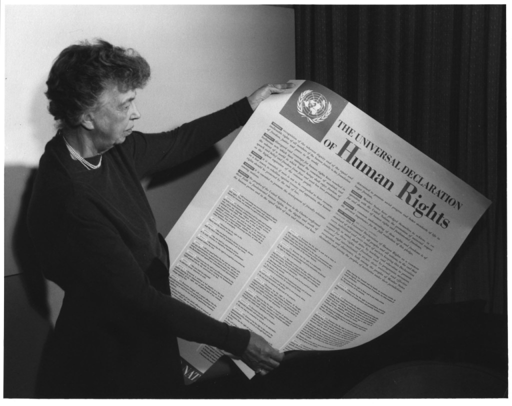 Eleonor Roosevelt declaration